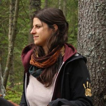 Sarah Stumböck ist Erlebnispädagogin bei N.E.W.