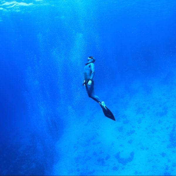 Leif ist Freediving Instructor