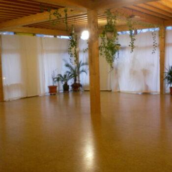Raum mit Fußbodenheizung