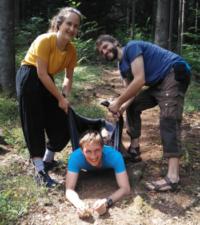 Erlebnispädagogik im Wald mit N.E.W.