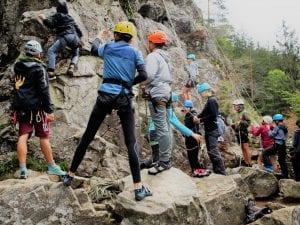 Hier lesen Sie eine Kundenstimme zu unserem Klettercamp Schwarzwald 2019.