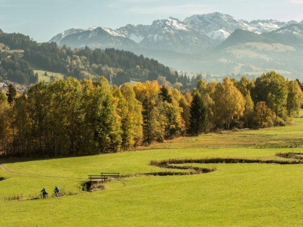 Im Sommer kommen Trekking-Fans im Allgäu voll auf ihre Kosten