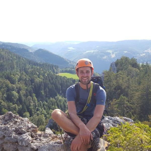 Benjamin Maeder ist Erlebnispaedagoge bei N.E.W.