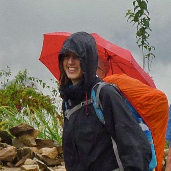 Corinna ist erlebnispädagogische Trainerin bei N.E.W.