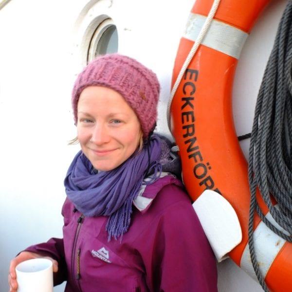 Anja Blöhm sit erlebnispädagogische Trainerin bei N.E.W.