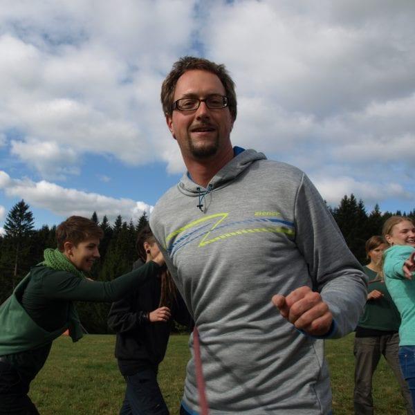 Erlebnispädagoge Bastian Bißwanger