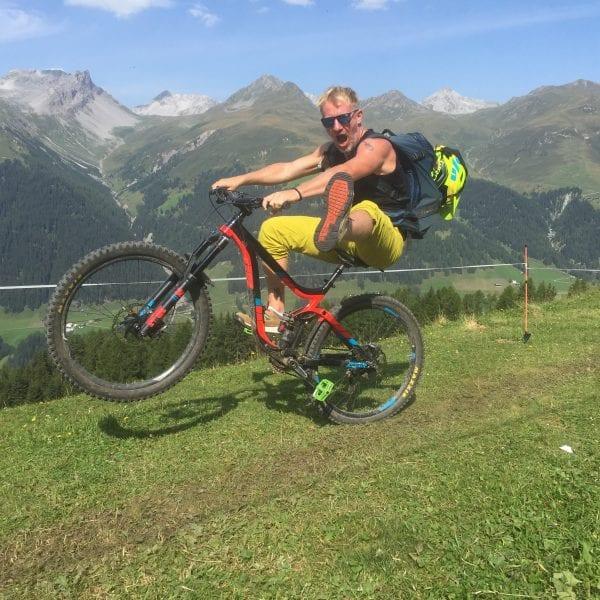 Leif Cornelissen ist bikender Erlebnispädagoge