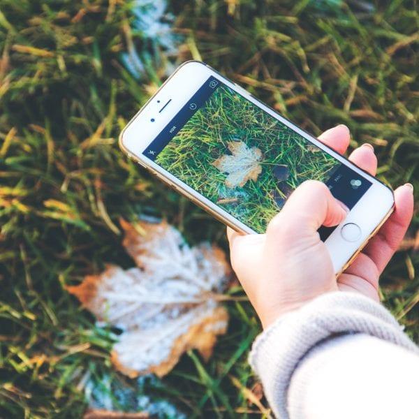Schnell mal mit dem Smartphone ein Bild machen und dann auf unseren Social Media Kanälen posten... auch das zählt zu Deinem Job im Praktikum.