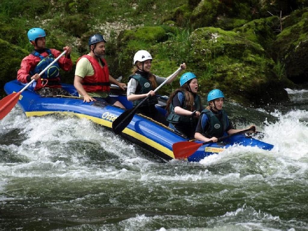 Kanu, Kanadier oder Kajakfahren können Kinder und Jugendliche bei unseren Ferienlagern