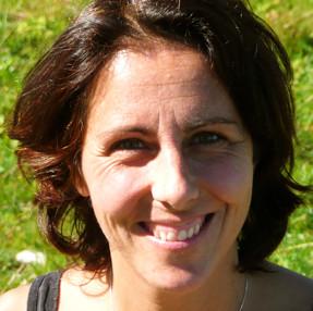 Ute-Maria Heilmann macht die Visionssuchearbeit