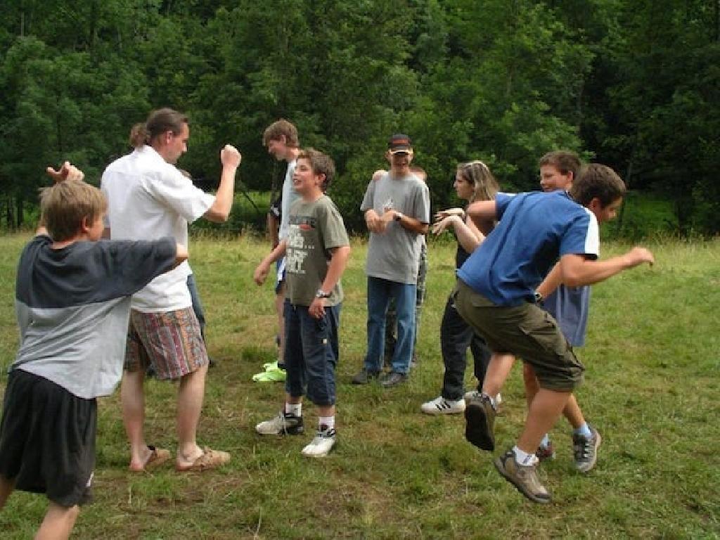 Evolution ist ein echter Klassiker unter den erlebnispädagogischen Spielen.