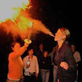 Natürlich machen wir nicht nur Gurkenmasken ;) Nein, nein, es darf beim Ferienlager für Mädchen auch mal heiß her zugehen!