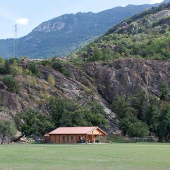 Unser Basecamp für die Kletterfreizeit liegt ganz in der Nähe von Finale Ligure.
