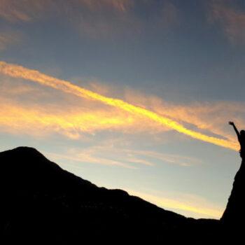 Klettern hat immer auch etwas Magisches: Wir laden Dich ein am Fels Deine eigene Komfortzone zu erweitern.