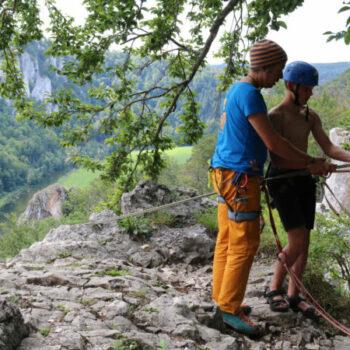 Bernd leitet seit vielen Jahren unsere Kletterfreizeiten für Kinder und Jugendliche.