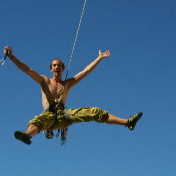 Klettern macht Spaß... und frei!
