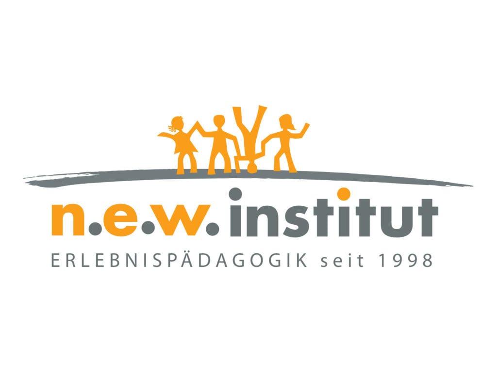 Das N.E.W. Institut macht seit 1998 Erlebnispädagogik. Das ist unser Logo.