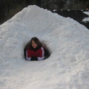Leben wie die Inuits. Und dazu musst du nicht einmal zum Nordpol!