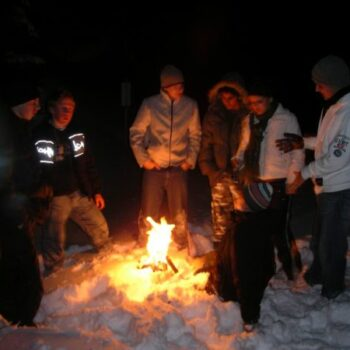 Am Lagerfeuer ist noch jedem warm geworden!