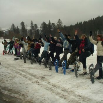 Schneeschuhwandern macht riesigen Spaß!