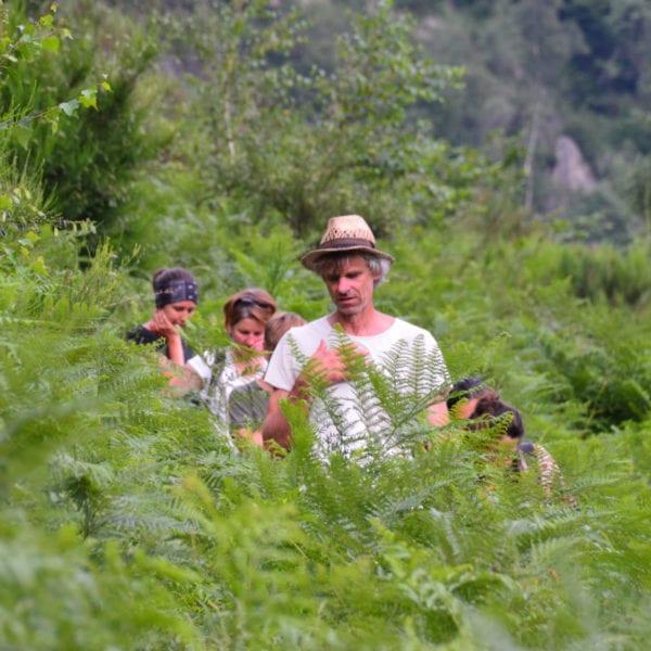 Stephan Straub mit Ausbildungsgruppe auf Pianezola