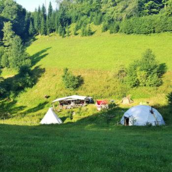 Unser Basislager der Visionssuche im Schwarzwald