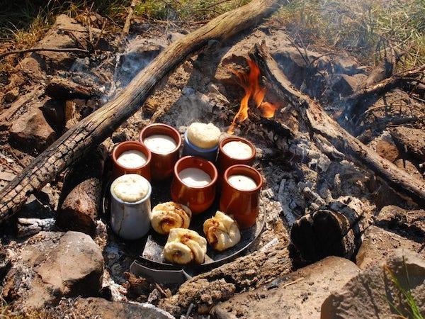 Lagerfeuerküche ist ein beliebtes Thema auf erlebnispädagogischen Klassenfahrten
