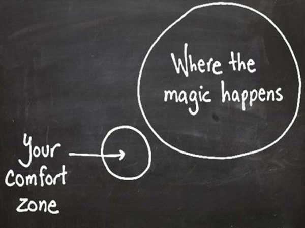Erlebnispädagogik bedeutet Komfortzone Verlassen!