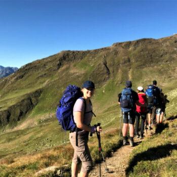 Eine Alpenüberquerung für Jugendliche ist definitiv nix für Couchpotatoes!