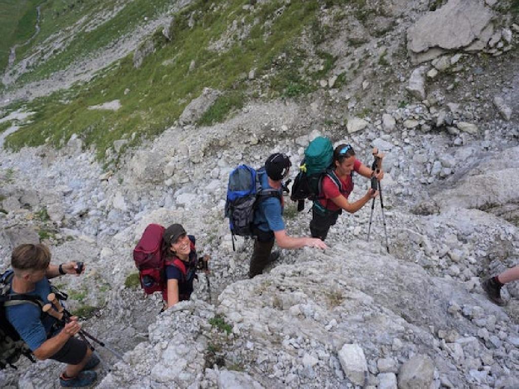 Alpenüberquerung für Jugendliche