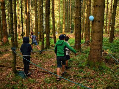 Bei Into the Wild warten abenteuerliche Geländespiele auf Dich!