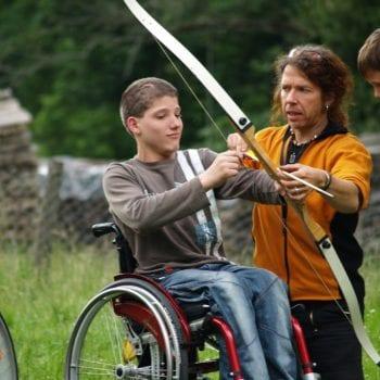 Bernd hat schon aus jedem einen wahren Bogenschützen-Meister gezaubert!