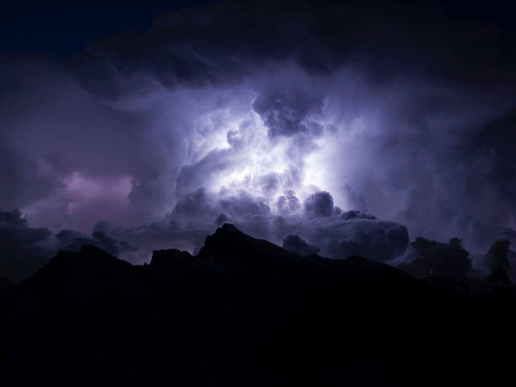 Ein Gewitter ist ein atemberaubendes Naturschauspiel!