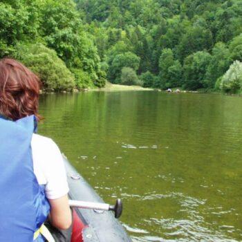 Auf der Kanufreizeit lernen wir den Doubs hautnah kennen!