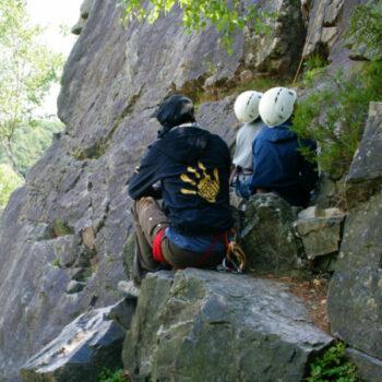 Unsere Kletterguides haben Dich im Blick...