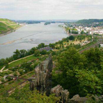 Unsere Kletterfreizeit findet in der Nähe von Mainz statt, und zwar bei Bingen im Morgenbachtal :)