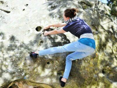 Auch Bouldern ist ein echtes Erlebnis!