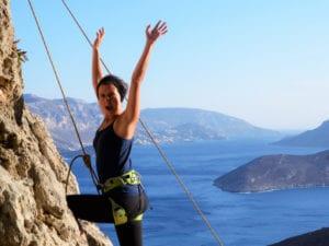 Klettern darf auch Spaß machen