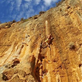 Schönster Fels gibts auf unserer Kletterreise