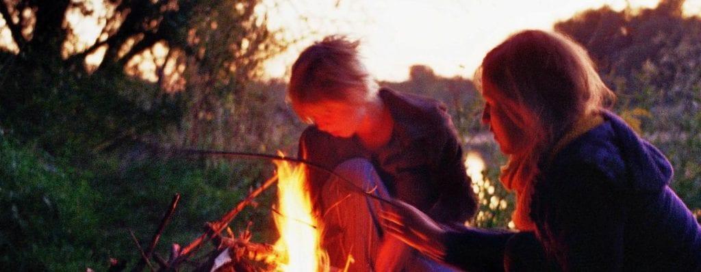 So ein Feuer ist doch etwas Schönes!