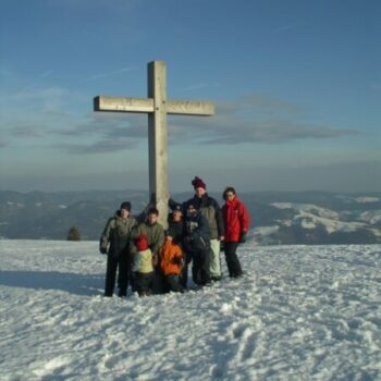 Das Gipfelkreuz ist erklommen!