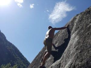 Bestes Boulderwetter auf der Boulderreise