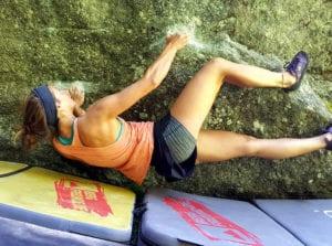 Liegestart auf der Boulderreise