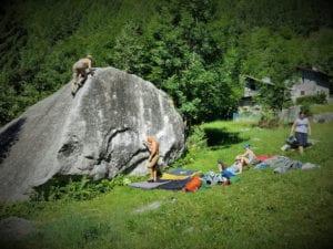 Kleiner Highball auf der Boulderreise
