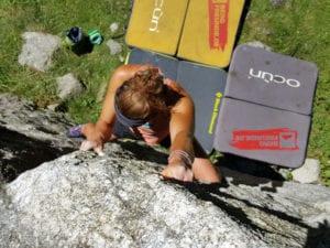 Crashpad Management auf der Boulderreise