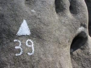 Boulder Nr.39 auf der Boulderreise