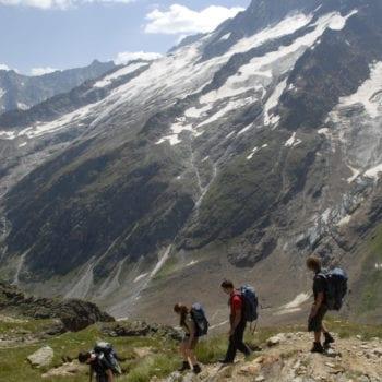 Auf geht's: Beim Trekking kommt's nicht nur auf die Kondition an, sondern auch auf's Durchhaltevermögen.