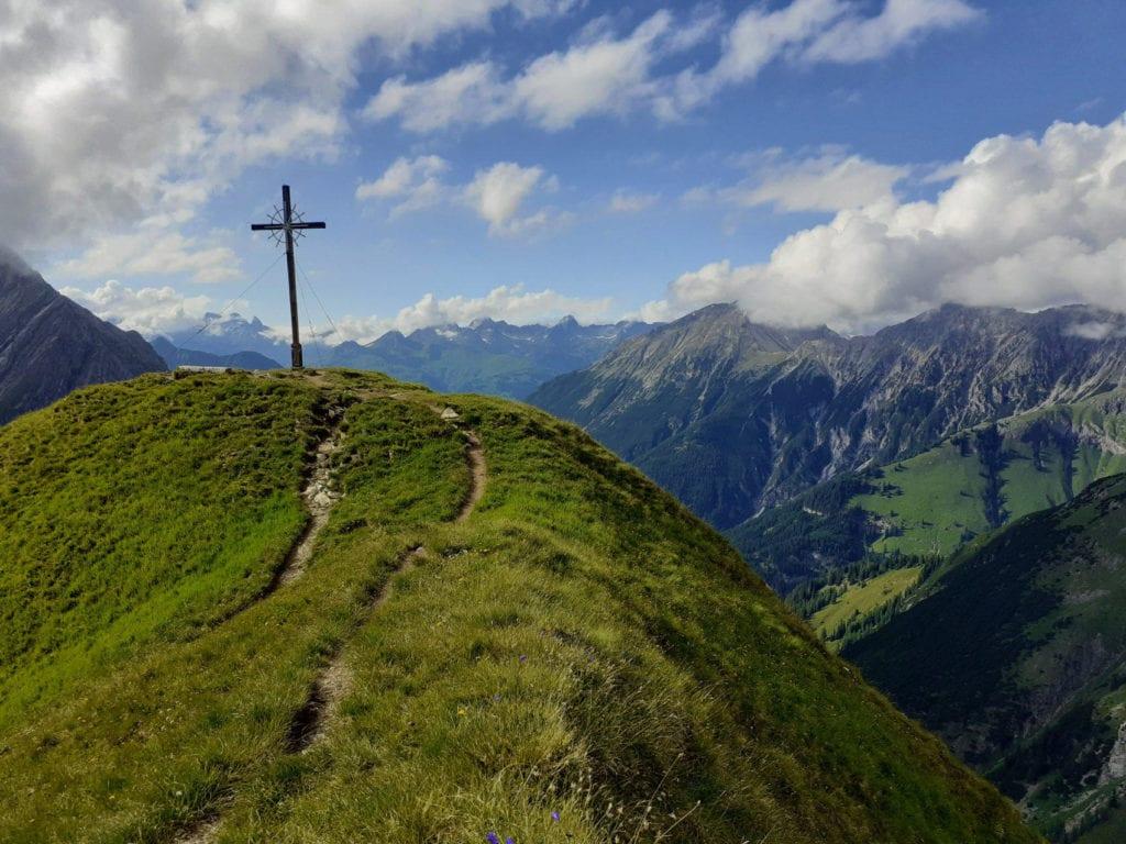 Trekking in den Schweizer Alpen
