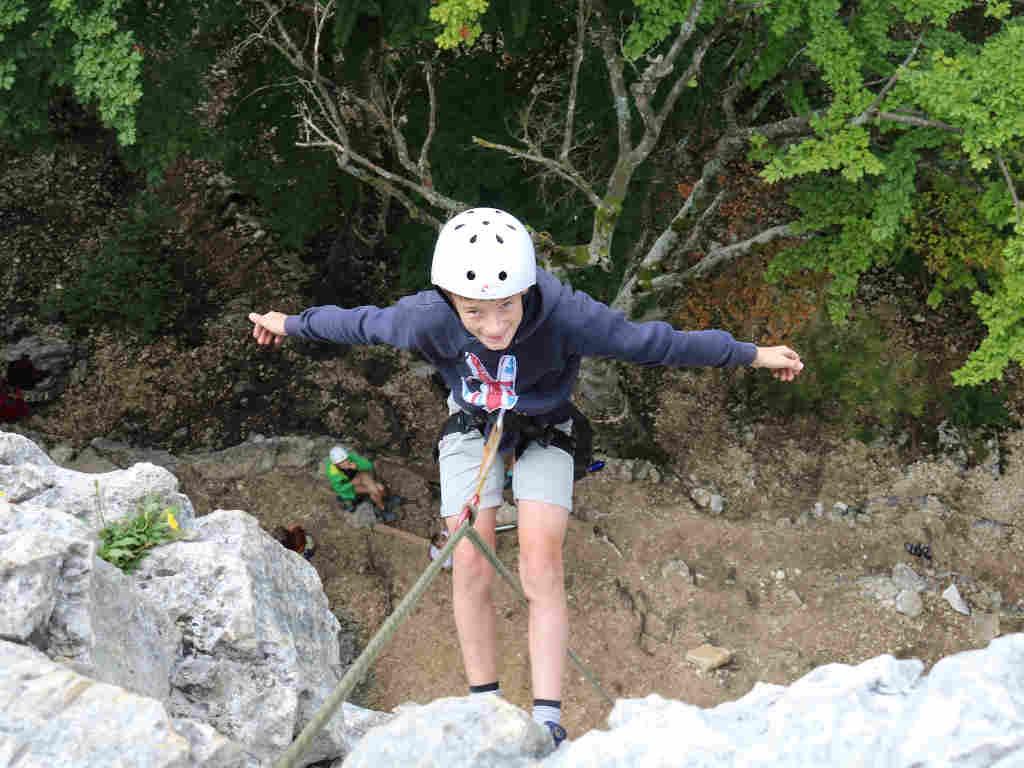 Das Klettern zählt als eine der leichtesten Möglichkeiten, Primärerlebnisse zu erfahren.