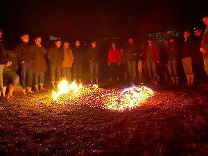 Ein geniales Erlebnis für Gruppen beim Modul Feuerlauf